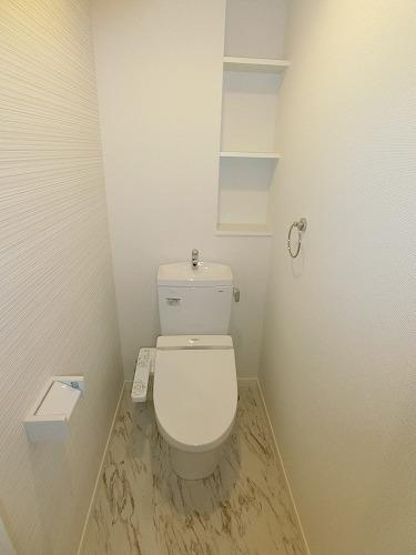 プレア セレッソ / 302号室トイレ