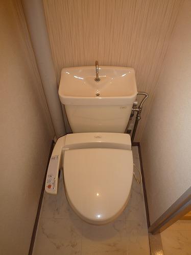 コーポラス梅津 / 105号室トイレ