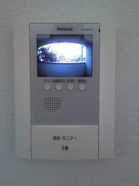 コムフォート・シティ / 203号室セキュリティ