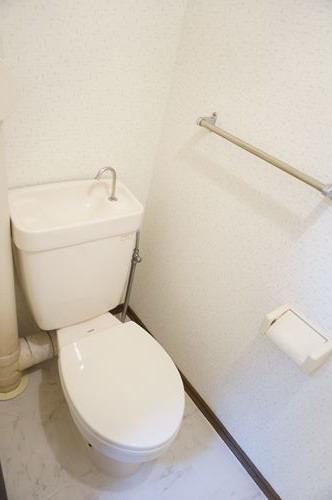 サンヒルズ竹田 / 101号室トイレ