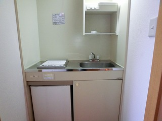 プレデュパルク壱番館 / 302号室キッチン