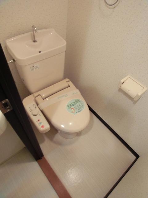 スクレーパー東 / 203号室トイレ