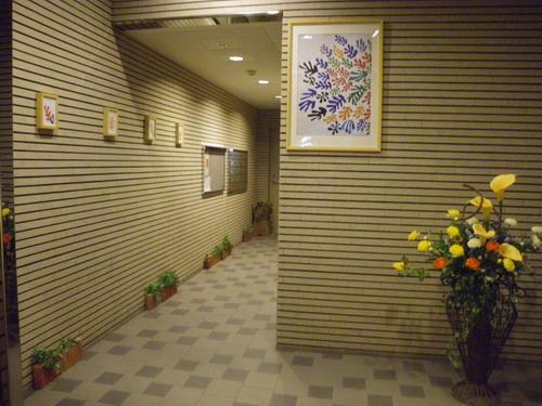 スクレーパー東 / 501号室エントランス