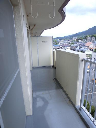 エクセル篠栗 / 401号室バルコニー