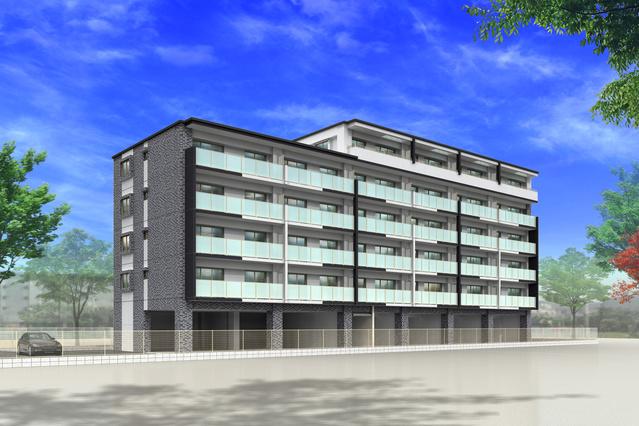アンソレイユ / 406号室建物外観