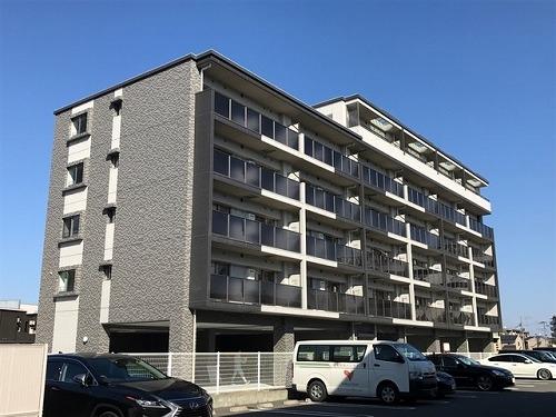 アンソレイユ / 507号室建物外観