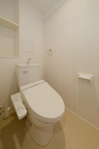 仮)ハイツウェルス4九大マンション / 607号室トイレ