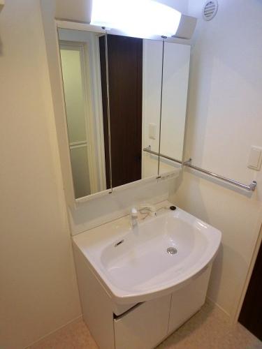 アンソレイユ / 202号室洗面所
