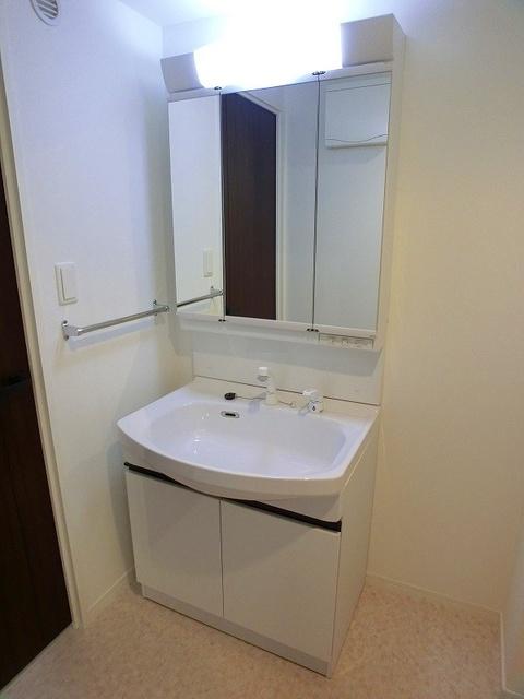 アンソレイユ / 206号室洗面所
