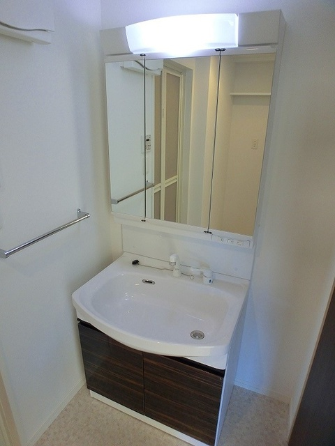 アンソレイユ / 401号室洗面所