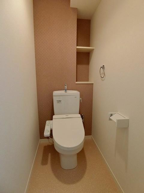 ディア・コート / 101号室トイレ