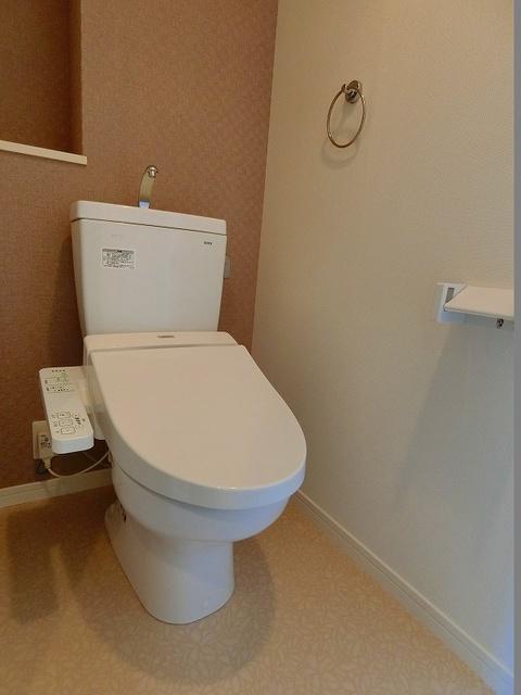 ディア・コート / 203号室トイレ