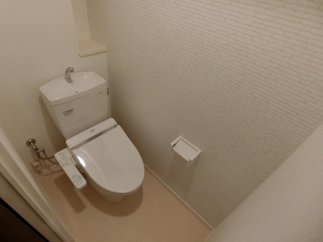 (仮)田尻賃貸マンション / 201号室トイレ