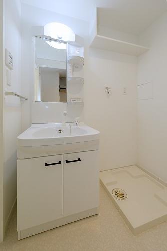 (仮)ハイツウェルス4九大マンション / 408号室洗面所