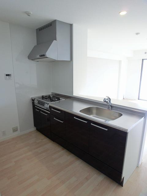 アンソレイユ / 201号室キッチン
