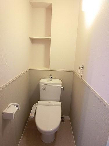 グランドルーチェ駅南 / 401号室トイレ