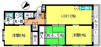 コーポユキ / 201号室間取り