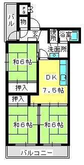 野田ビル / 403号室間取り