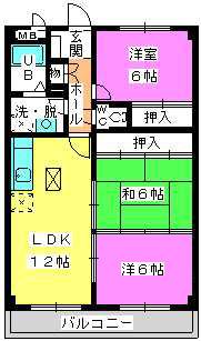 コーポユキⅡ / 303号室間取り