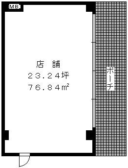 コーポユキⅡ / 101号室間取り