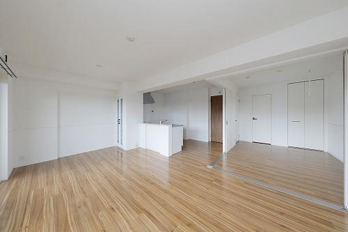 仮)プレアev湯町3丁目マンション / 506号室リビング