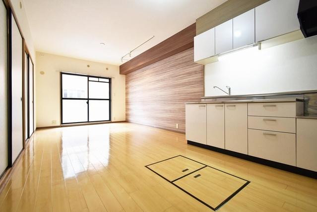 エクセレント中嶋Ⅱ / 101号室リビング
