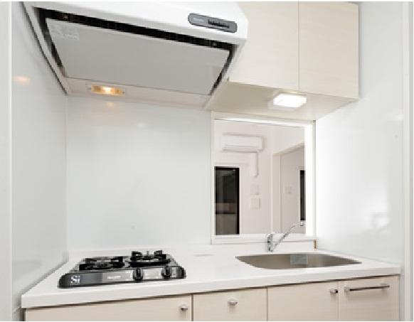 R&R / 205号室キッチン