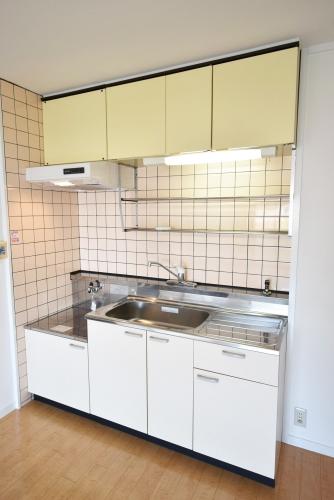 シャトレ針摺 / 201号室キッチン