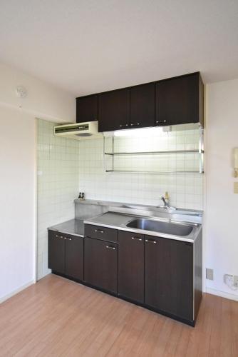 レピュートMF / 102号室キッチン