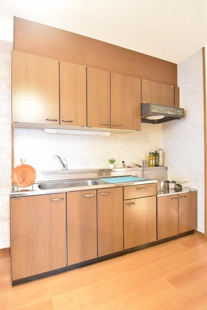 シャトレ参番館 / 403号室キッチン