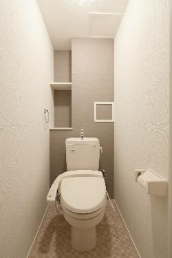 プレジデント正弥朱雀(ペット可) / 401号室トイレ