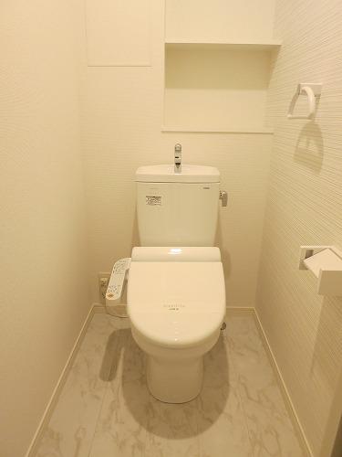 ソシア宮の杜(ペット可) / 202号室トイレ