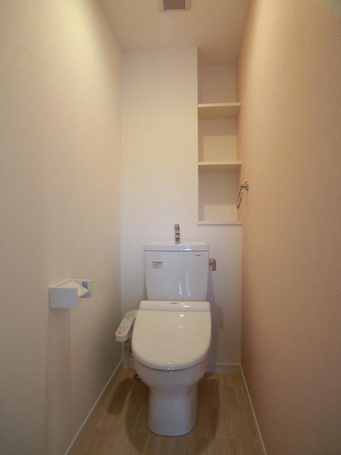 ステラファミーユ(ペット可) / 102号室トイレ