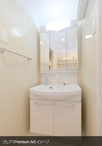 アミューザン筑紫 / 402号室洗面所