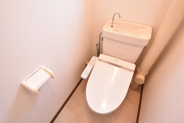 シャトー渡辺 / 401号室トイレ
