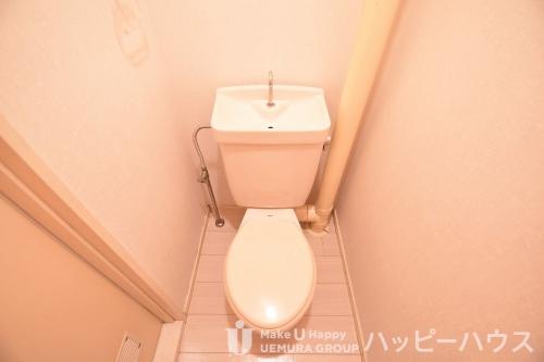 レピュート二日市 / 102号室トイレ