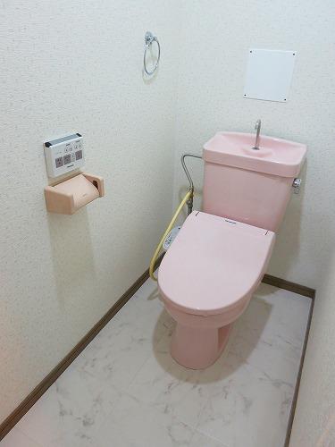 エクセレント中嶋Ⅱ / 105号室トイレ