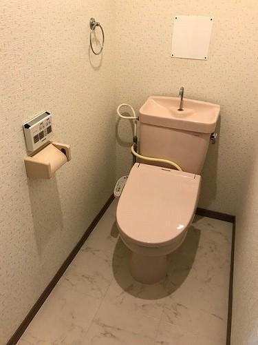 エクセレント中嶋Ⅱ / 302号室トイレ