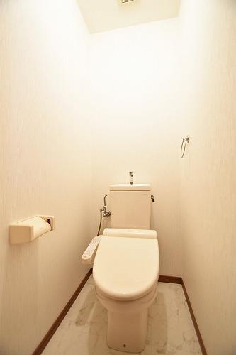 メロディーハイツあまの / 101号室トイレ