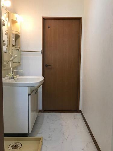 メロディーハイツあまの / 201号室洗面所