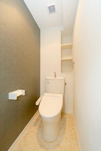 ブランコート筑紫野 / 105号室トイレ