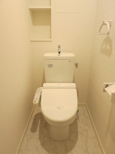 ソシア宮の杜(ペット可) / 201号室トイレ