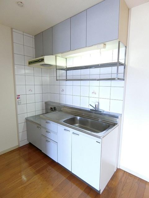 プレジール天拝 / 102号室キッチン