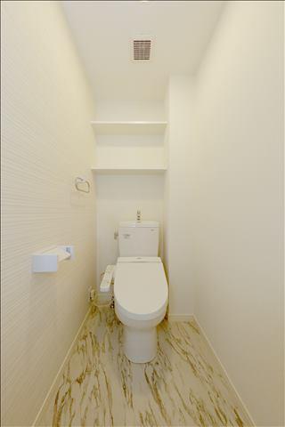 エステート杉塚Ⅱ(ペット可) / 301号室トイレ