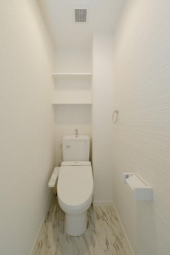 フェリスカーサ水城 / 103号室トイレ