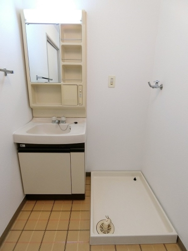 ビレッジ都府楼Ⅱ / 202号室洗面所