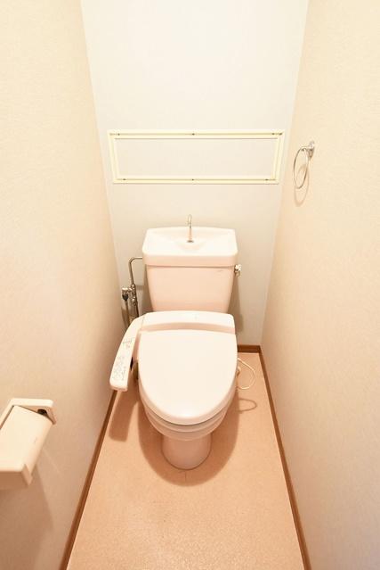 フォーレスト壱番館 / 402号室トイレ