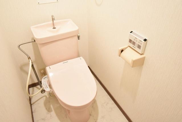エクセレント中嶋Ⅱ / 101号室トイレ
