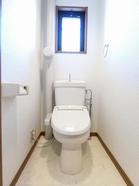 ファミーユ筑紫 / 201号室トイレ
