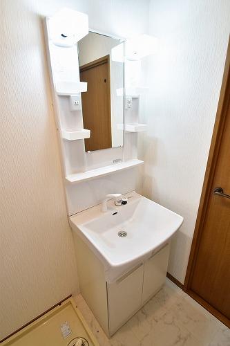 メロディーハイツあまの / 101号室洗面所